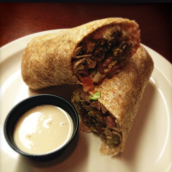 Falafel Sandwich @ Layla's Falafel