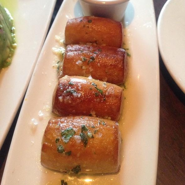 Soft garlic pretzels @ Absinthe Brasserie & Bar