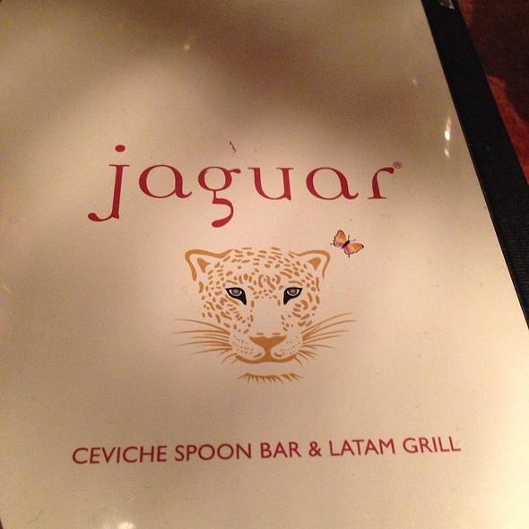 Menu - Jaguar, Coconut Grove, FL