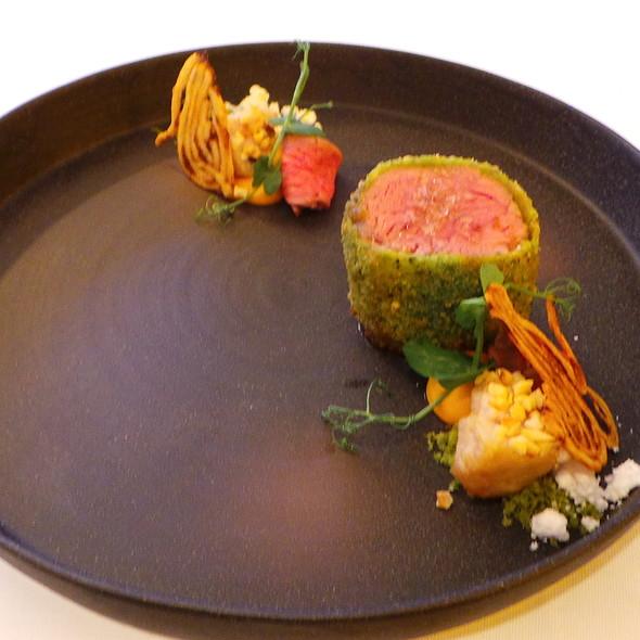 Grilled Fillet of German Veal, Ris de Veau, Bavette @ Nagaya