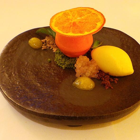 White Chocolate Mousse with Orange @ Nagaya