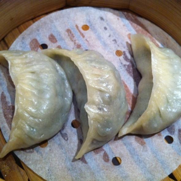Steamed Vegetable Dumplings @ Crystal Jade La Mian Xiao Long Bao