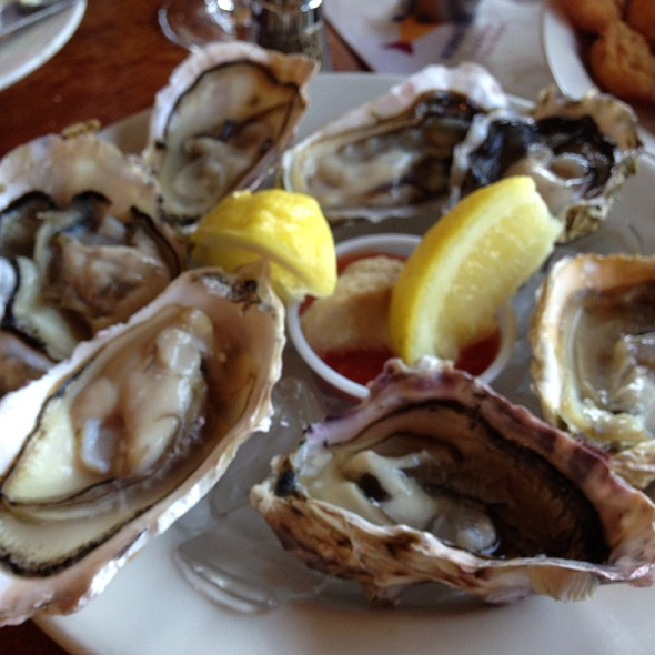Fanny Bay Oysters On The Half Shell - Enterprise Fish Co. - Santa Barbara, Santa Barbara, CA