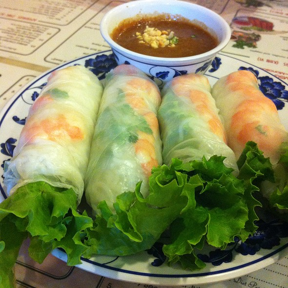 Shrimp Springroll @ Pho Big Bowl