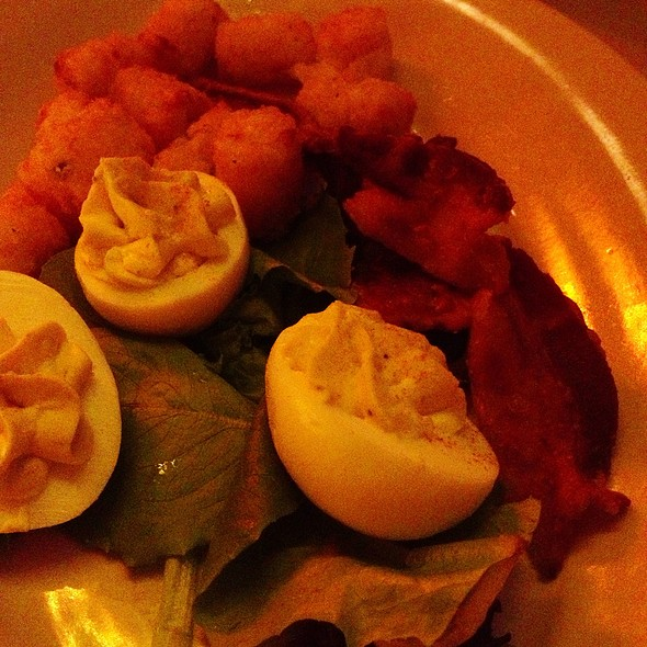 Bacon and eggs - Southern Hospitality - Downtown, Denver, CO