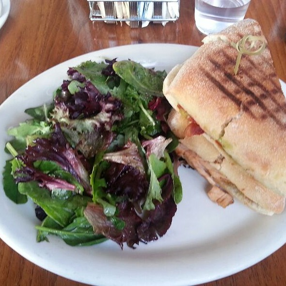 Curried Chicken Sandwich @ Coral Tree Cafe