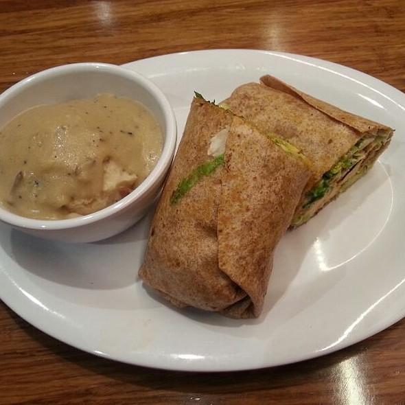 Baja Wrap @ Veggie Grill