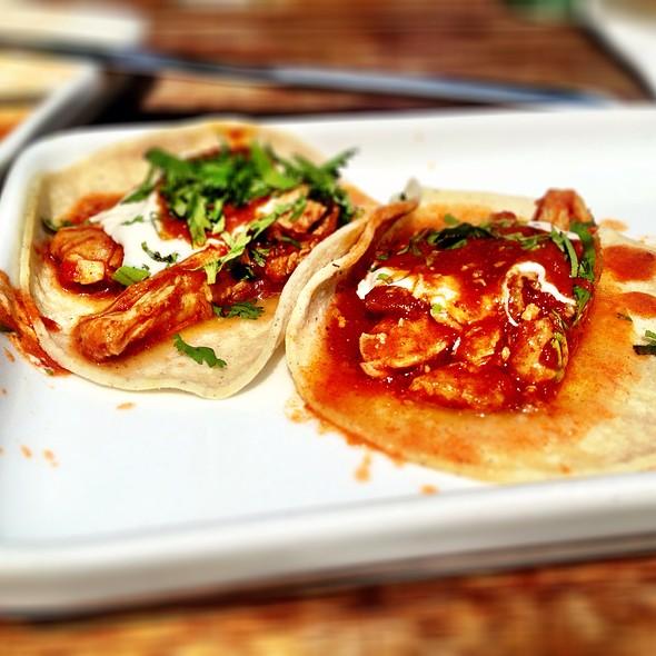 Spicy Tinga Chicken Tacos @ Wahaca's Southbank Experiment