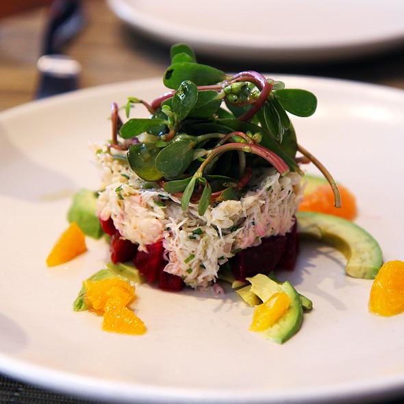 Beet and Peekytoe crab salad - Print Restaurant, New York, NY