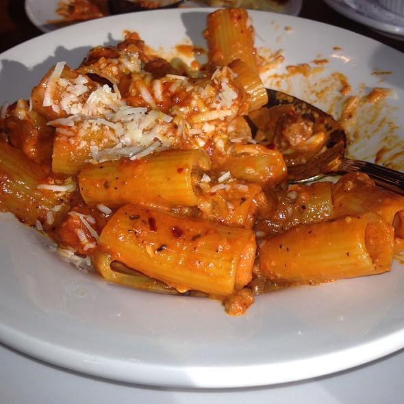 Braised Sausage And Pasta - Riccardo Enoteca, Chicago, IL
