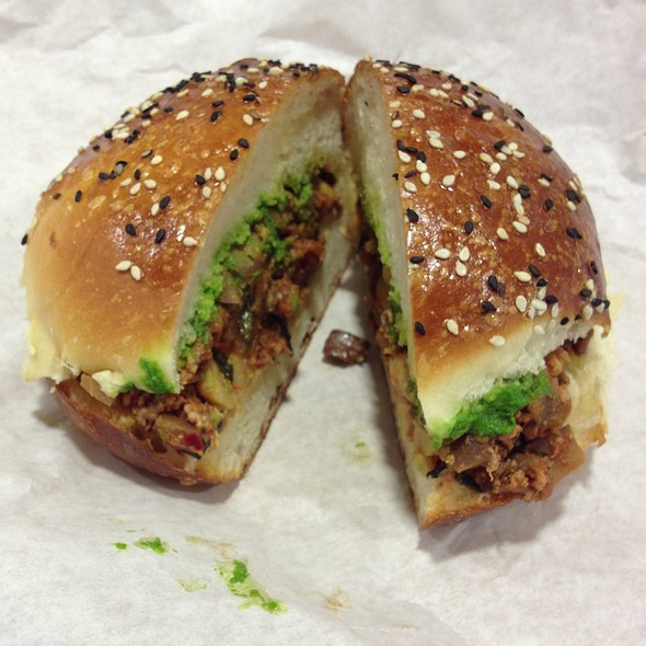 Lamb & Eggplant Sandwich @ The Sentinel