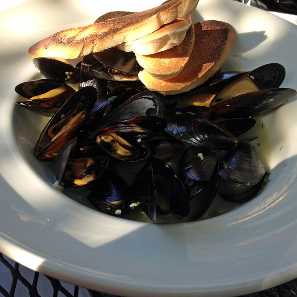 Steamed Blue Point Mussels - Bistecca at The Granary, Billings, MT