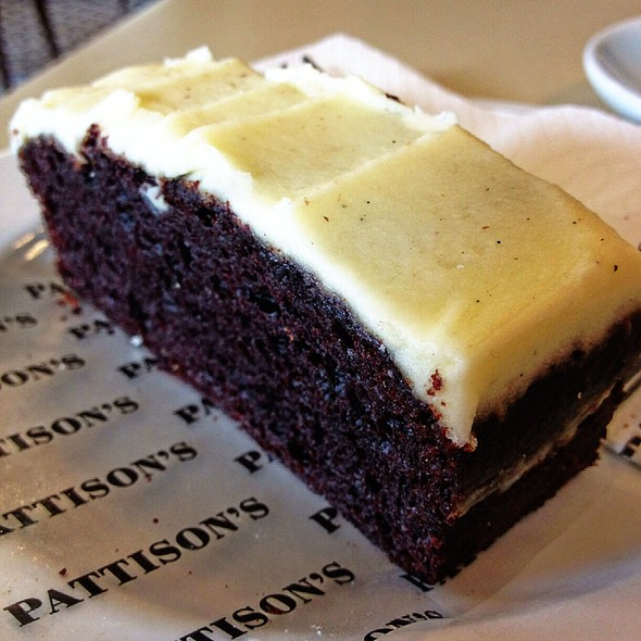 Chocolate Beetroot Cake Slice @ Pattison's Patisserie Fine Bakery & Cafe