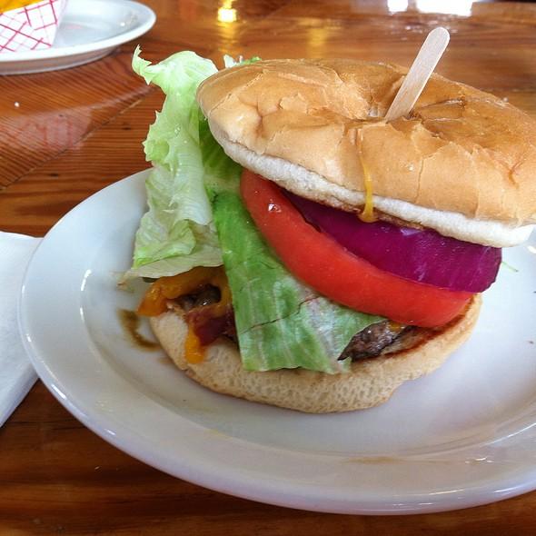 Baja Burger @ Holiday Snack Bar