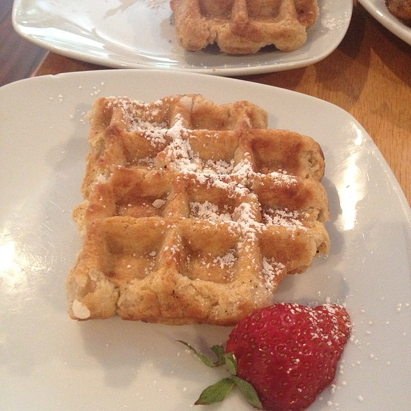 Liege Waffle @ Iron Roost