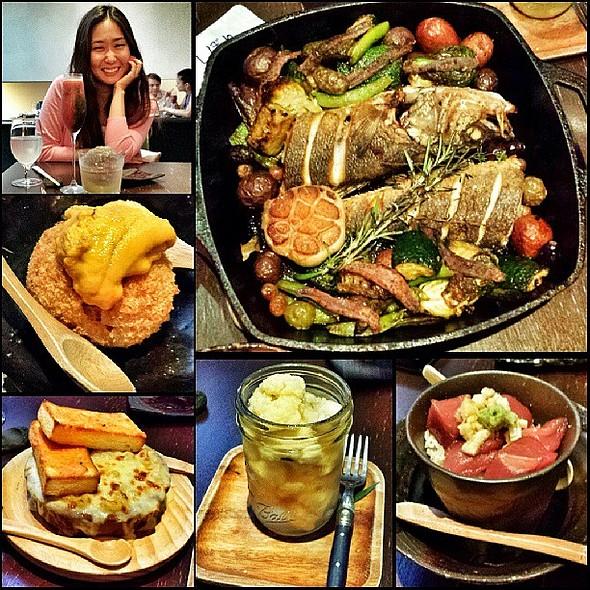 Great dinner w/ @janeun! @ Bohemian