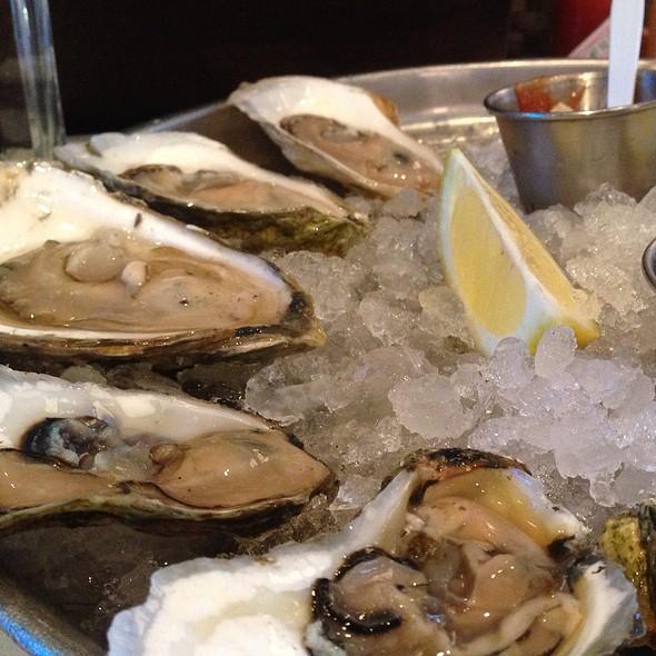 raw oysters - Rabia's, Boston, MA