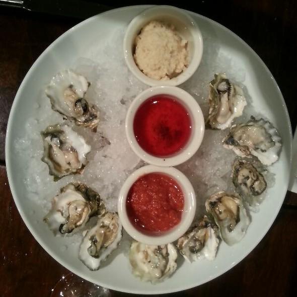 Kumamoto oysters @ Earl's Bucks County