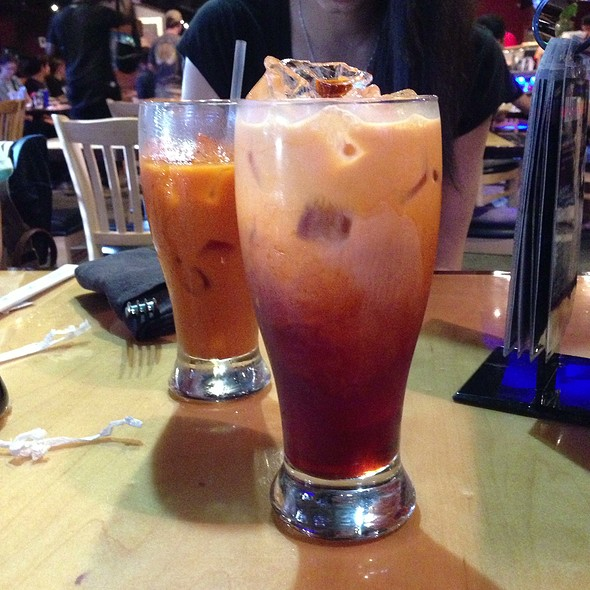Thai Iced Tea @ Sushi Nine