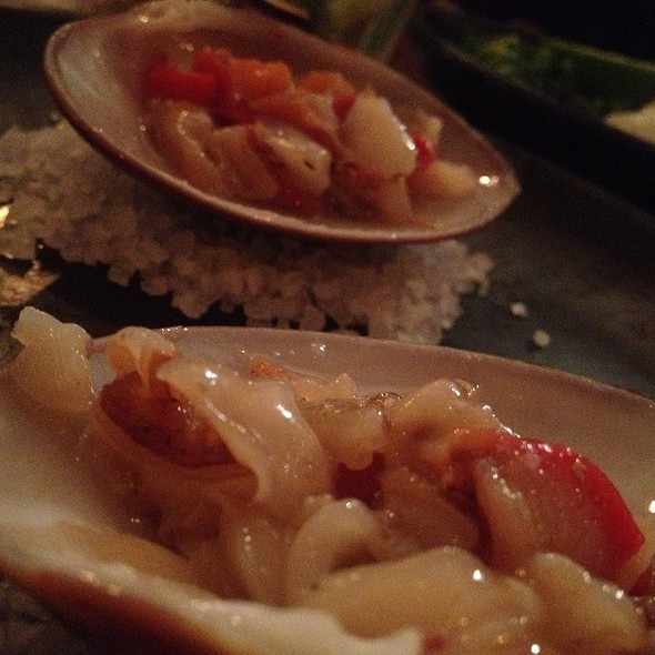 Shaved Clams @ La Excentrica