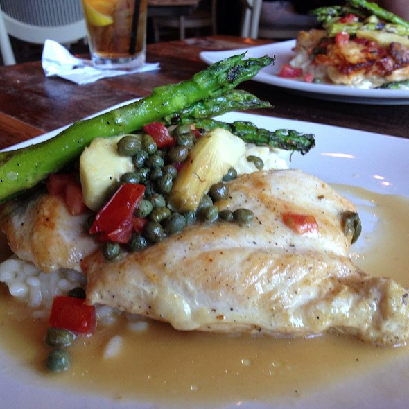 Chicken Piccata - Palmers Fresh Grill, Lexington, KY