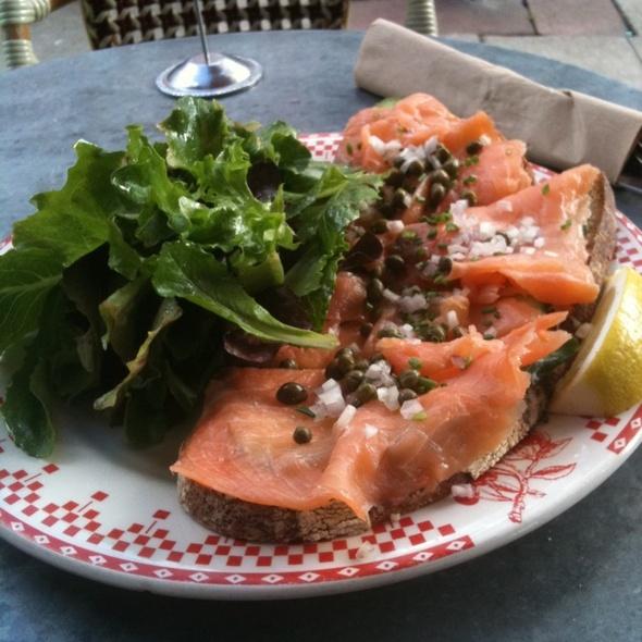 Smoked Salmon Sandwich @ La Boulange De Fillmore