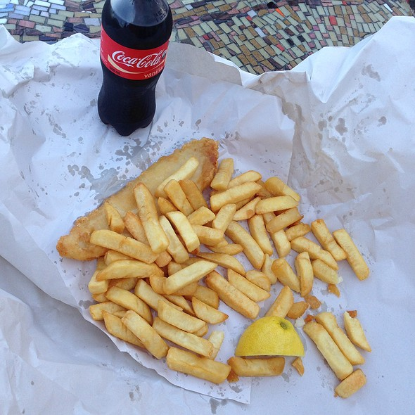 Fish and Chips @ Bondi Surf Seafoods