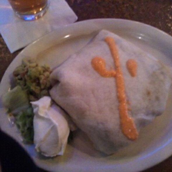 Super Spicy Mad Mex Burrito @ Mad Mex Robinson