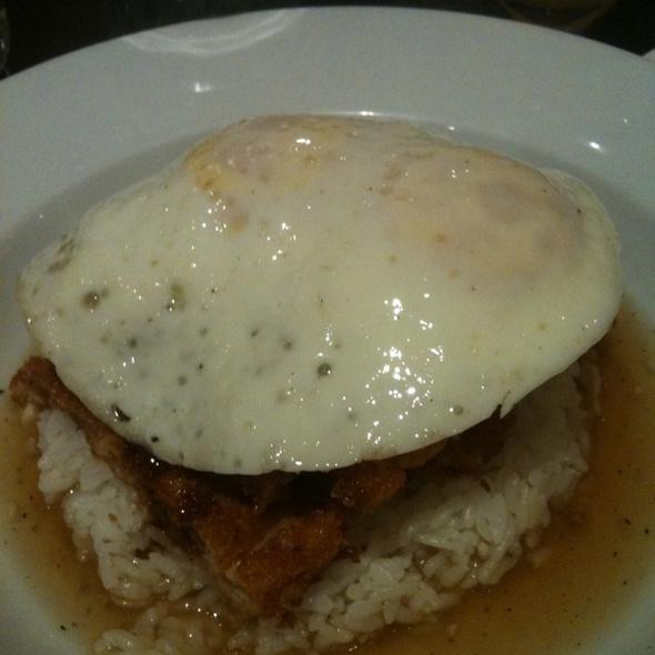 Chicken Katsu Loco Moco @ Barracuda Japanese Restaurant