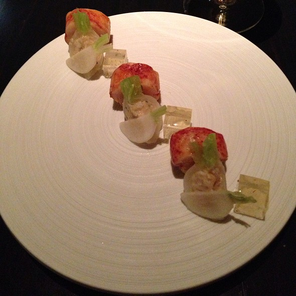 Maine Lobster & Foie Gras Torchon @ L20