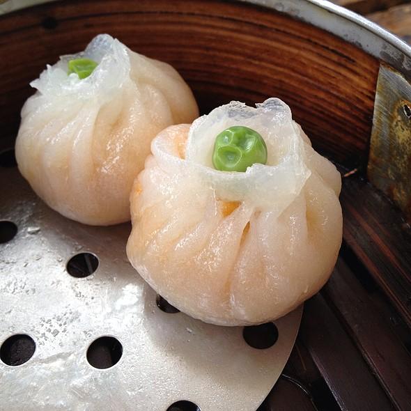 Japanese Pumpkin Dumplings @ Bodhi Restaurant