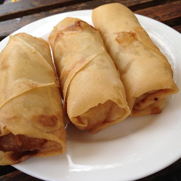 Vegetarian Prawn Rolls @ Bodhi Restaurant