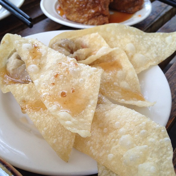 Deep Fried Taro Dumplings @ Bodhi Restaurant