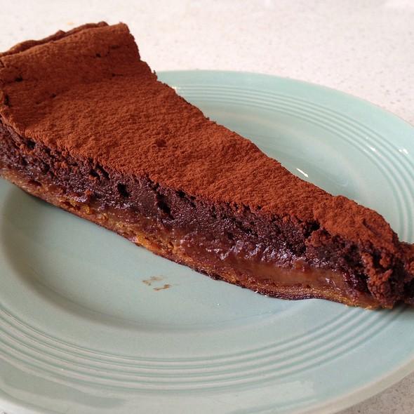 Chocolate & Caramel Tart @ Flour & Stone