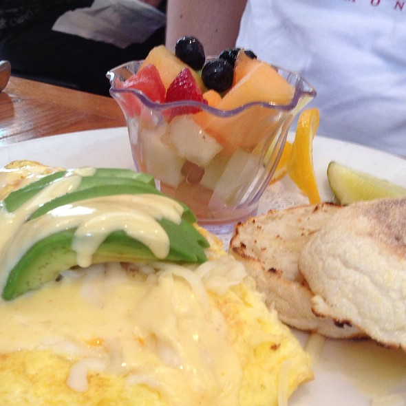Crab And Avocado Omlette @ Benedict's La Strata