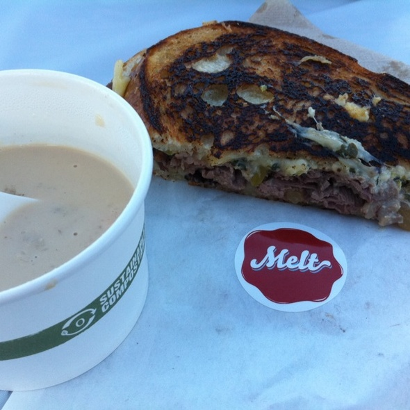 Surf & Turf Melt With Lobster Bisque