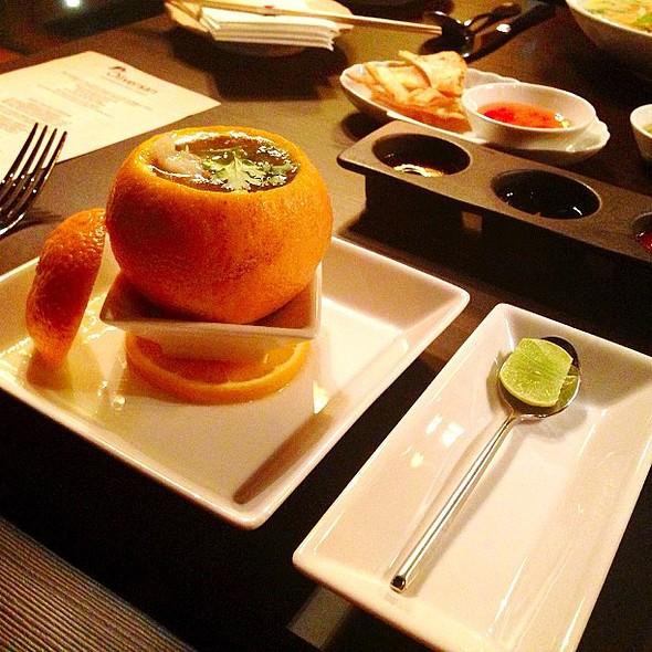 Oliversan Tangerine Seafood Soup @oliversanrestaurant @fnbboy @ Oliversan Contemporary Asian Cuisine