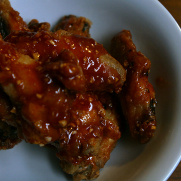 Spicy Chicken Wings @ The Office