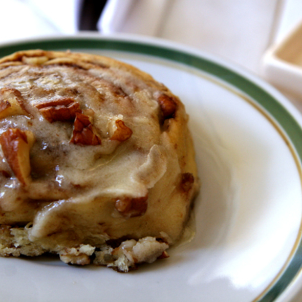 Cinnamon Rolls @ Cafe Crespin
