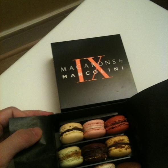 Macarons @ Pierre Marcolini