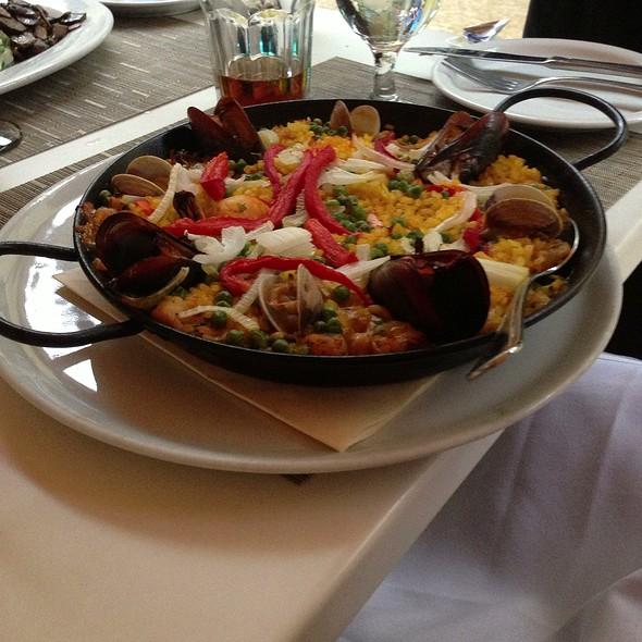 Seafood Paella @ Locanda Sibilla