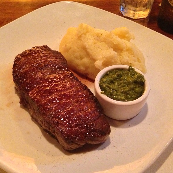 N.Y. Strip Steak - North Star Restaurant, Pound Ridge, NY