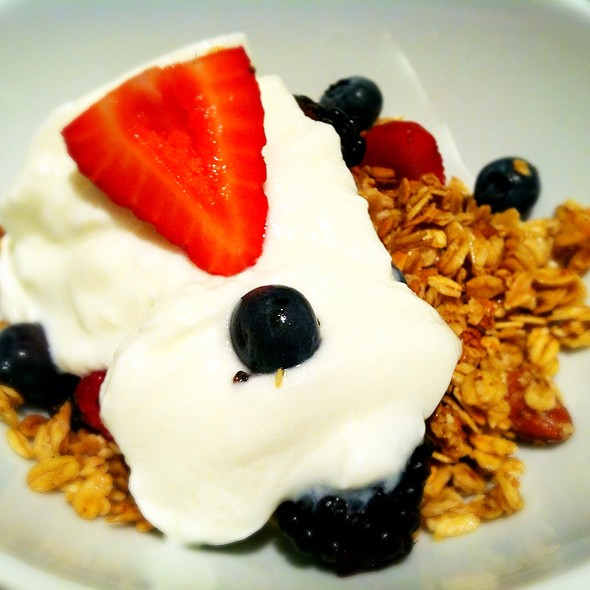 Yogurt With Berries & Granola - Brasserie, New York, NY