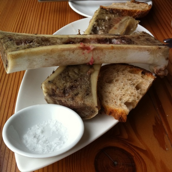 Bone Marrow @ The Hoof Cafe