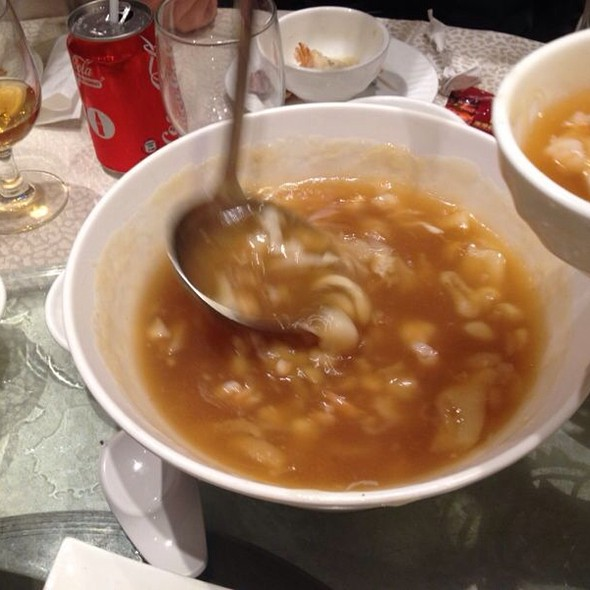 Fish maw soup @ 海港酒家