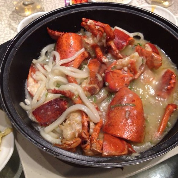 Stew Mud Crab With Udon @ 海港酒家