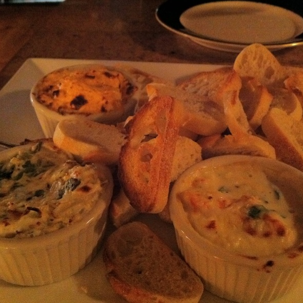 Trio Of Dips - Dolphin Striker, Portsmouth, NH