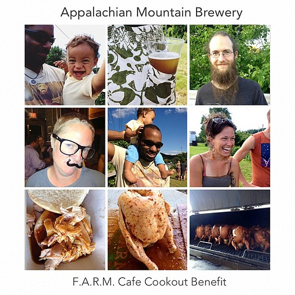 Had way too much fun hanging out with yesterday! @ Appalachian Mountain Brewery