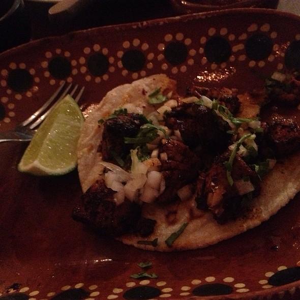 Rib Eye (Chili Seasoned) Taco @ La Excentrica