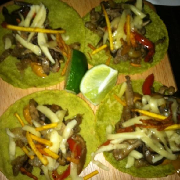 Veggie Soft Tacos @ Teqa